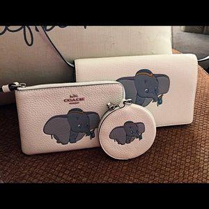 Coach Disney X Dumbo Trio of Cases. New!